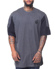 Rocawear - S/S Optimist Knit Crew Neck Tee (B&T)