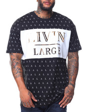 Buyers Picks - S/S Livin Large Crew Neck Tee (B&T)