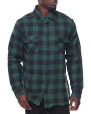 Button-downs - L/S Buffalo Flannel