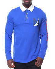 Nautica - L/S Logo Rugby Polo