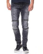 Jeans & Pants - Daredevil Zipper Trimmed Ultra Skinny Biker Jean