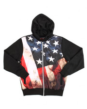 Arcade Styles - L/S French Terry Sublimation Graphic Hoodie (8-20)