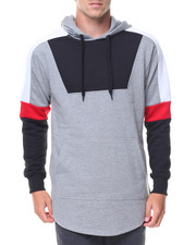 Athleisure for Men - Color Block Pullover Hoody