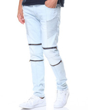 Buyers Picks - Daredevil Zipper Trimmed Ultra Skinny Biker Jean