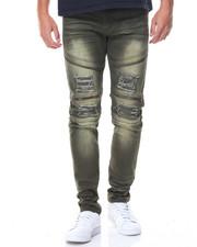 Jeans & Pants - Zip Trim Moto Twill Pants