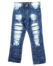 Jeans - Fashion Cut/Sew Jeans (4-7)