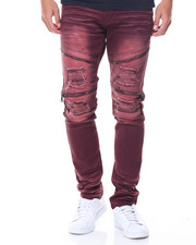 Pants - Zip Trim Moto Twill Pants