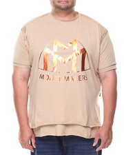 Buyers Picks - S/S Money Makers Double Layer Foil Tee (B&T)