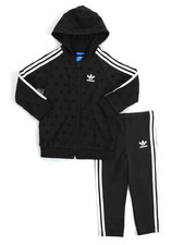 Adidas - TREFOIL FT HOODIE/LEGGINGS SET (INFANT-4T)