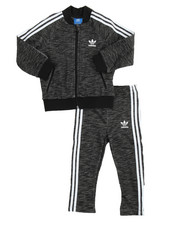 Boys -  SUPERSTAR MELANGE TRACK SUIT (INFANT-4T)