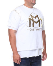 Shirts - S/S Money Makers Double Layer Foil Tee (B&T)