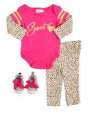Infant & Newborn - 3 Piece Creeper Set (Infant)