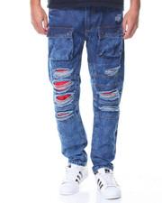 Buyers Picks - Red Detail Cargo Jean