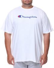 Men - S/S Retro Champion Script Tee (B&T)