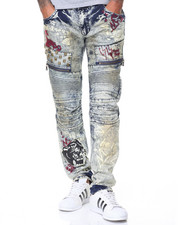 Buyers Picks - Studded Graffiti Jeans