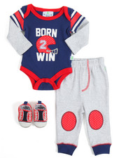 Boys - 3 Piece Creeper Set (Infant)