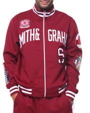 Men - L/S Full Zip Patches Jacket