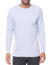 Thermals - Solid L/S Crewneck Thermal Top
