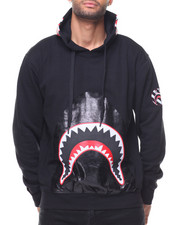 Hoodies - Shark Mouth Pullover Hoody