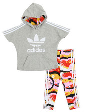 Adidas - INFANT CLOUD HOODIE & LEGGINGS (INFANT-4T)