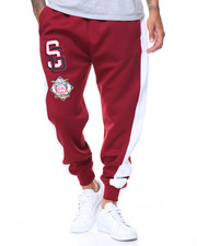 Men - Stripes And Patches Joggers