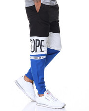 Pants - Split Cotton Jogger