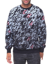 Pullover Sweatshirts - French Terry All Over Print