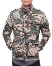 Men - Twill Biker Jacket