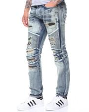 Men - Rip + Repair Camo Jeans