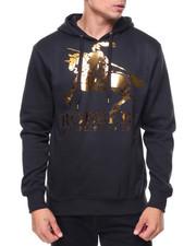 Men - Basic Pullover Metallic Hoodie