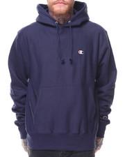 """Men - Reverse Weave Pullover Left Chest """"C"""" Logo Hood"""