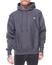 "Champion - Reverse Weave Pullover Left Chest ""C"" Logo Hood"