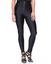 Fashion Lab - Metallic Zip Hi Waist Legging