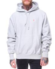 """Fall-2017-Mens - Reverse Weave Pullover Left Chest """"C"""" Logo Hood"""