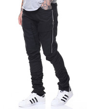 Pants - Zipper Flap Pocket Twill Pants