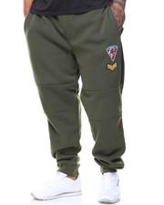 Men - Patch Fleece Pants (B&T)