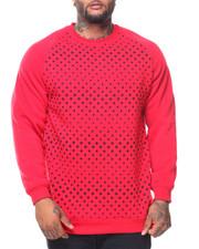 Men - Fleece Printed Pullover Sweatshirt (B&T)