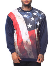 Pullover Sweatshirts - French Terry Sublimation Pullover Sweatshirt (B&T)