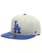 Boys - Youth Los Angeles Dodgers No Shot Two Tone 47 Captain Wool Snapback