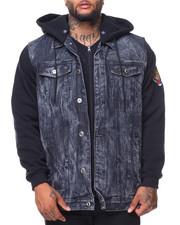Outerwear - Hooded Denim Jacket (B&T)