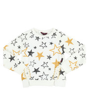 Tops - Glitter French Terry L/S Shirt (4-6X)