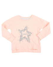 Girls - DKNY Star French Terry Pullover (2T-4T)