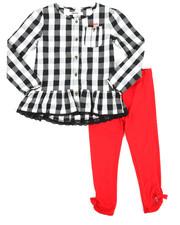 Girls - Checkered 2 Piece Set (4-6X)