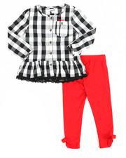 Sets - Checkered 2 Piece Set (2T-4T)