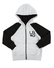 Boys - Research Collection Zip Hoodie (4-7)