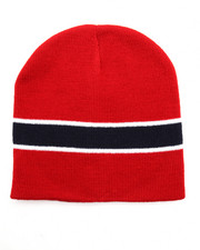 Hats - Striped Short Beanie