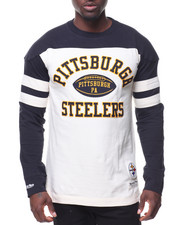 Men - Swing Pass L/S Pittsburgh- Steelers T-Shirt