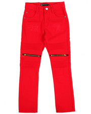 Boys - Bull Rigid Zipper Moto Jeans (8-20)