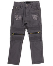 Boys - Bull Rigid Zipper Moto Jeans (4-7)