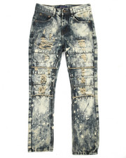 Boys - 14 Cut Knee Jeans (8-20)